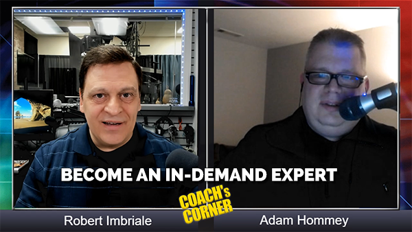 eCoach 62 : How to Become an In-Demand Expert with Adam Hommey